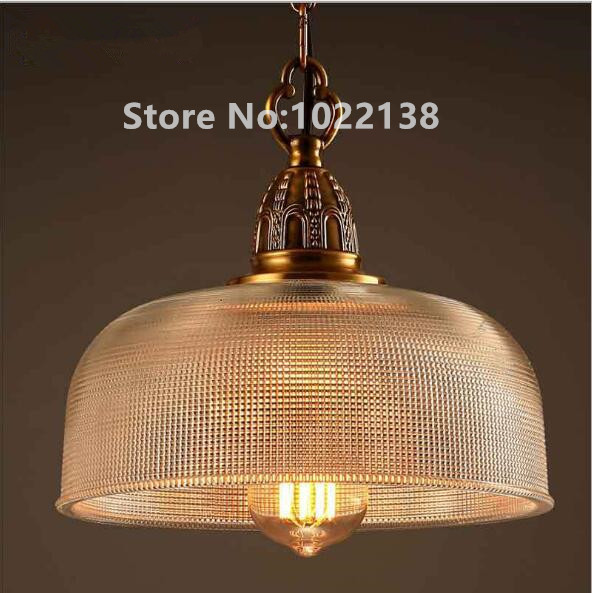 American Loft Style Iron Glass Droplight Edison Pendant Light Fixtures Vintage Industrial Lighting For Dining Room Hanging Lamp