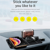Baseus Universal Car Phone Holder for Cell Mobile Phone Wall Desk Sticker Multi-Function Nano Rubber Pad Car Mount Holder Stand