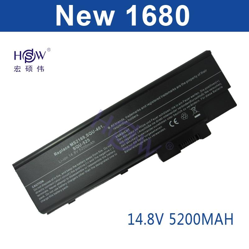 A HSW 5200 mah células de Bateria 8 1640Z Da Bateria Do Portátil para ACER Aspire 1410 1640 1650 1680 1690 3000 3500 5000 5510