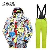 Ski Suits For Boys Kids Snowboarding Winter Jackets Pants Sport Suit Waterproof Girls Snowboard Sets Snowsuit 4-16T