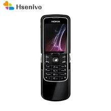 Original Unlocked Nokia 8600 Luna English/Russian/Arabic keyboard GSM 2G FM Blue