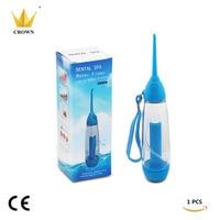 1PCS/lot Crown 70ml Oral Irrigator Dental Floss Implement Water Flosser Irrigation Water Jet Dental Irrigator Flosser