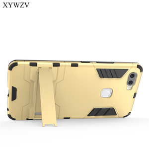 Image 5 - Pour la Couverture Vivo X20 Plus Étui Silicone Robot En Caoutchouc Dur Couverture de Téléphone étui pour Vivo X20 Plus Pour Vivo X20Plus Coque XYWZV