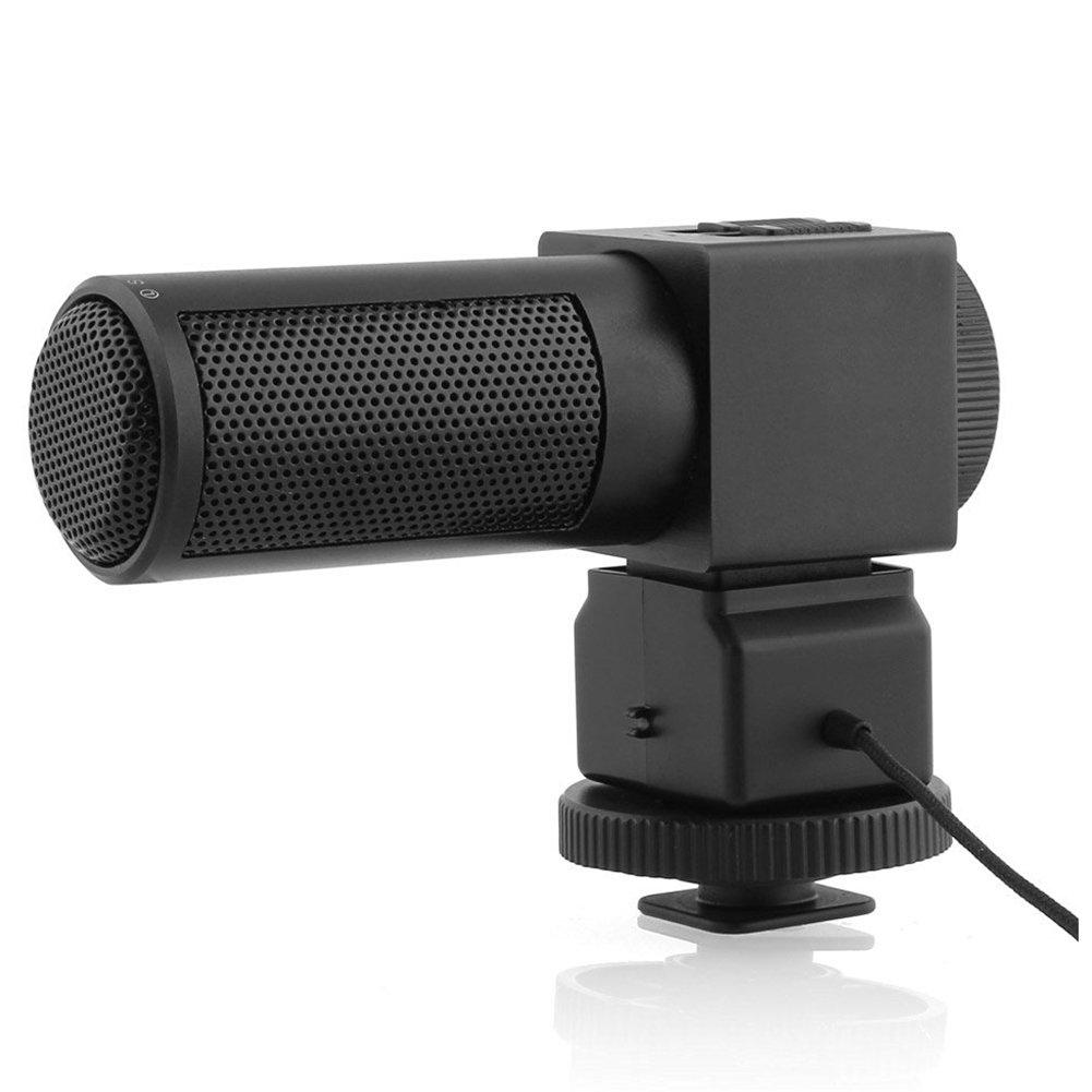Takstar Stereo Microphone Camera Microphone SGC-698 for Nikon Canon DSLR Camera Camcorder цена