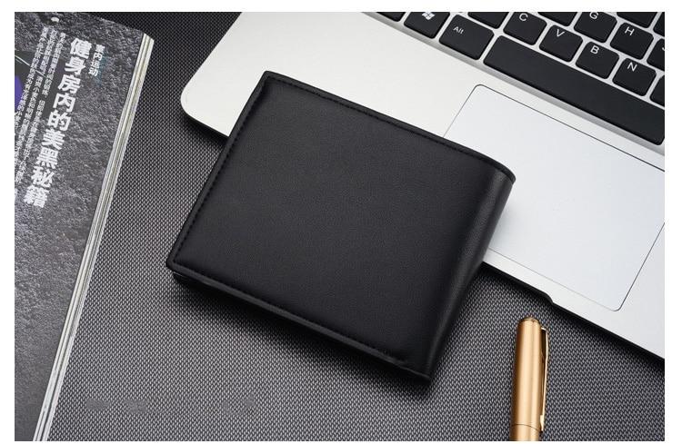 wallet men leather