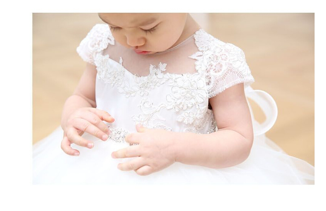 2019 Baby Girl Dress With Hat White 1 Year Old Birthday Party Formal  Vestido Infantil Baptism Clothes Christening Gown ABF164703 -  aliexpress.com - imall. ... 6629058bf421