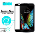 "BEST Anti-Scratch 3D full Curved Tempered Glass Film for LG K10 5.3"" full cover toughened Protective film screen protector films"