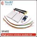 2pcs SV652 433MHz RS232 Interface 500mW Industrial Class 3km Distance Long Distance Wireless Transceiver Module