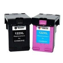 2 шт. картридж с чернилами для HP122 для HP 122 для hp 1000 1050 2000 2050 1510 3050 3000 3050A для HP 122 принтеров