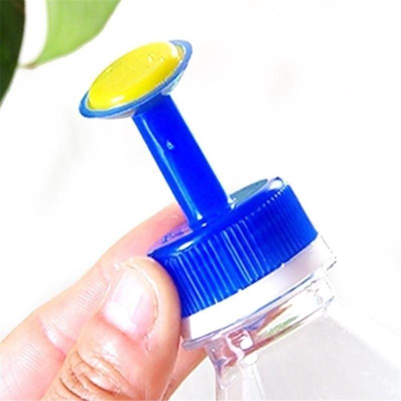 1 шт. Пластик дома в горшке полив бутылки насадка для 3 см воды разбрызгиватель для бутылок насадка растения Полив цветов инструменты случайных цветов D4