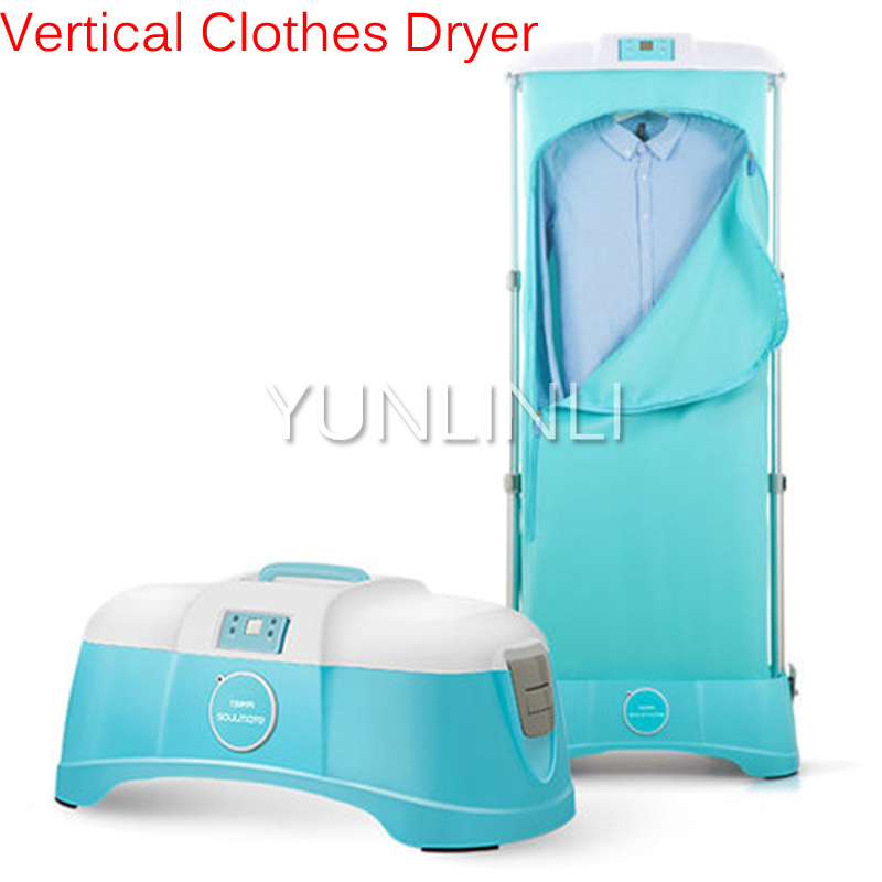 Vertical Clothes Dryer 5kg Drying Capacity Household Intelligent Remote Control & Long Timing Setting Drying Machine TJ-SM801M цена и фото
