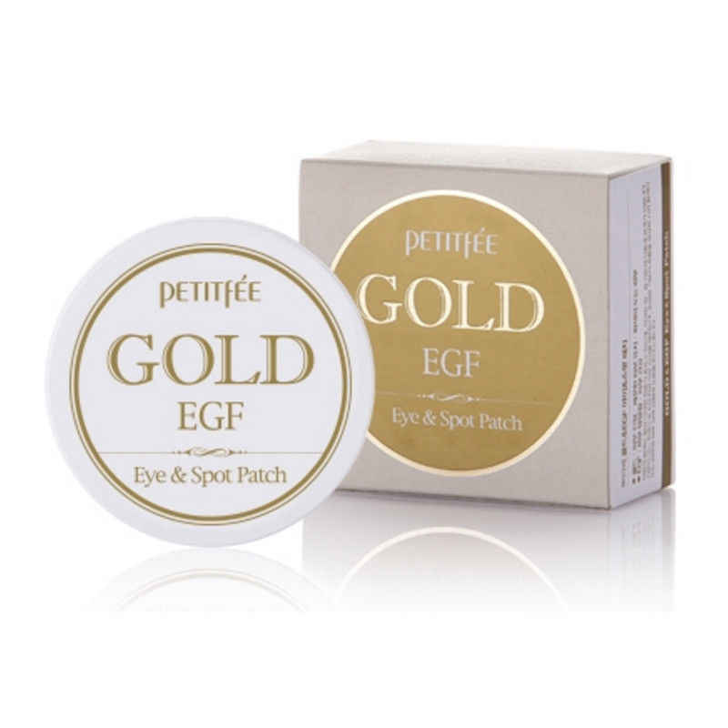 PETITFEE Gold Racoony Hydro Gel Eye Mask Spot Patch 90 ชิ้น (Eye 60pc และ Spot patch 30 pc) face Care Spot สิว