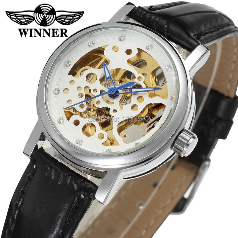 Winner Watch Fashion Women Watches Top Quality Lady Watch Factory Shop Free Shipping WRL8048M3S10