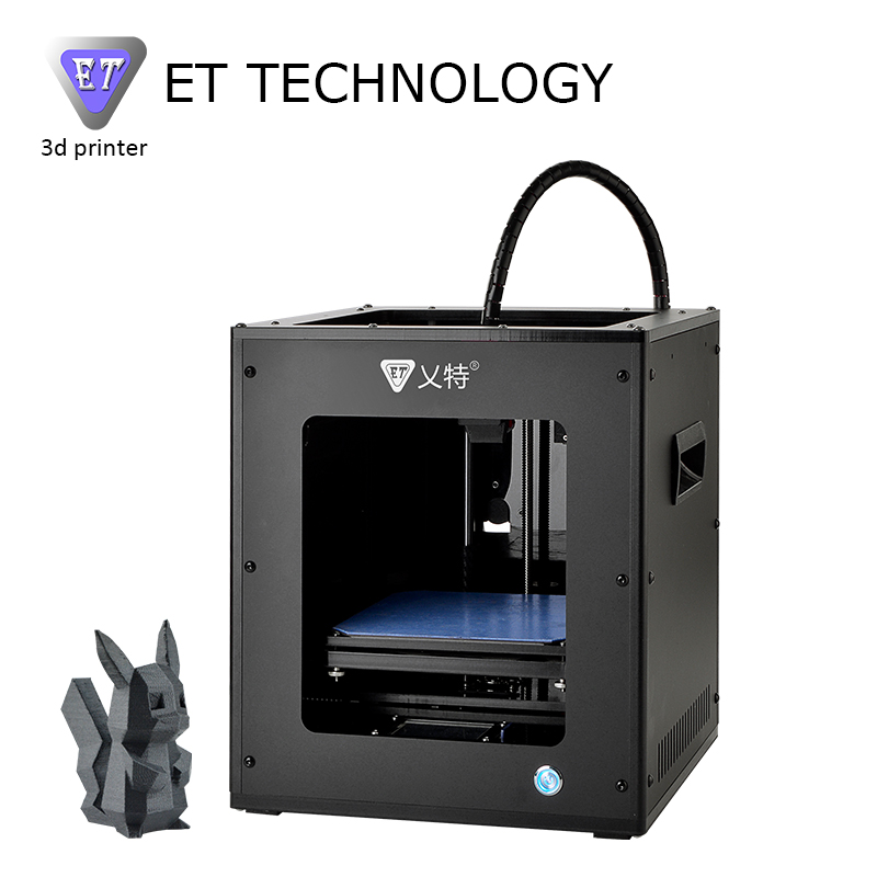 Yite ET 3D Printer Mini Acrylic Frame Magnetic Platform No Need Heat Bed Can Print PLA Wood TPU PETG Filaments Discount