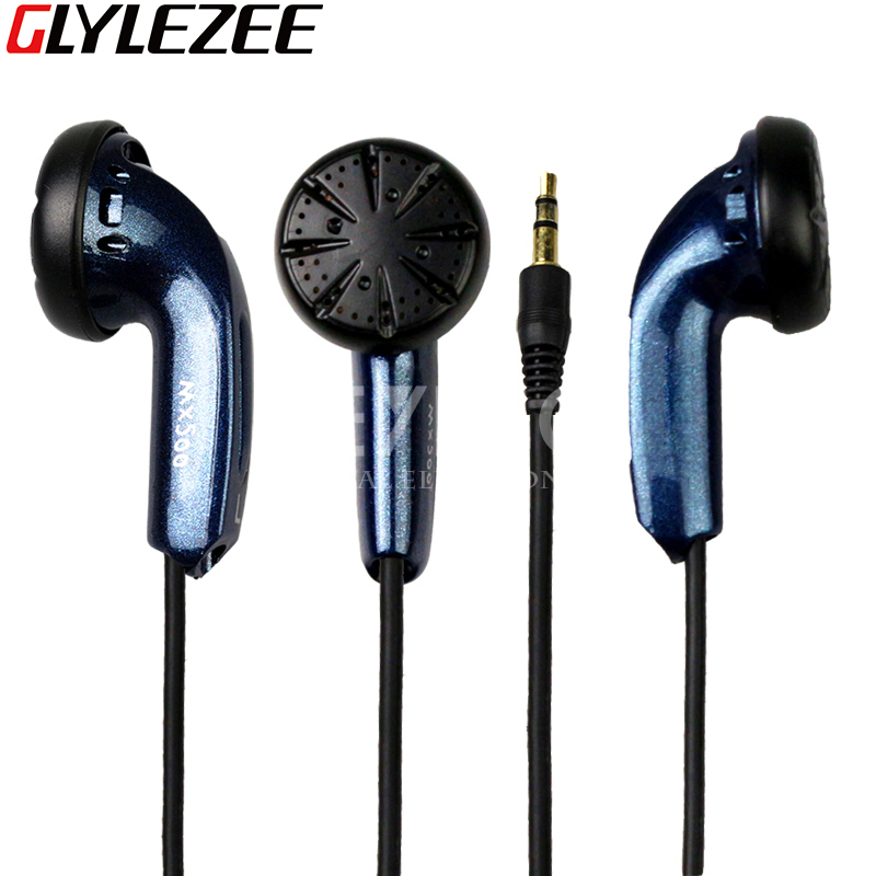 MX500 Stereo Headset Earphone Heavy Bass Music Earpiece with Volume Adjustment for MP3  FM Radio Mobile Cellphone FM PC Laptop