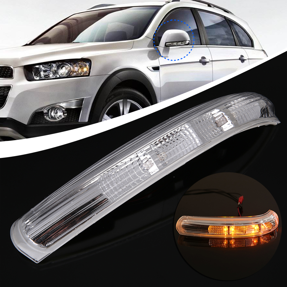 Car Lighting Parts 1pc 12V LED Right Side Mirror Lamp Turn Signal Indicator Lights For Chevrolet Captiva 2007 2016 in Signal Lamp from Automobiles Motorcycles