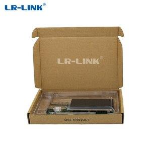 Image 5 - LR LINK 1001PF 2SFP 25Gb الألياف البصرية محول إيثرنت ثنائي المنفذ PCI Express بطاقة الشبكة إنتل XXV710 نيك