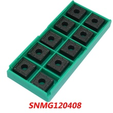 Free Shipping SNMG120408 Indexable Carbide Turning Lathe Inserts Cutter for PSBN/PSDN/PSKN/PSSN Lathe Holder