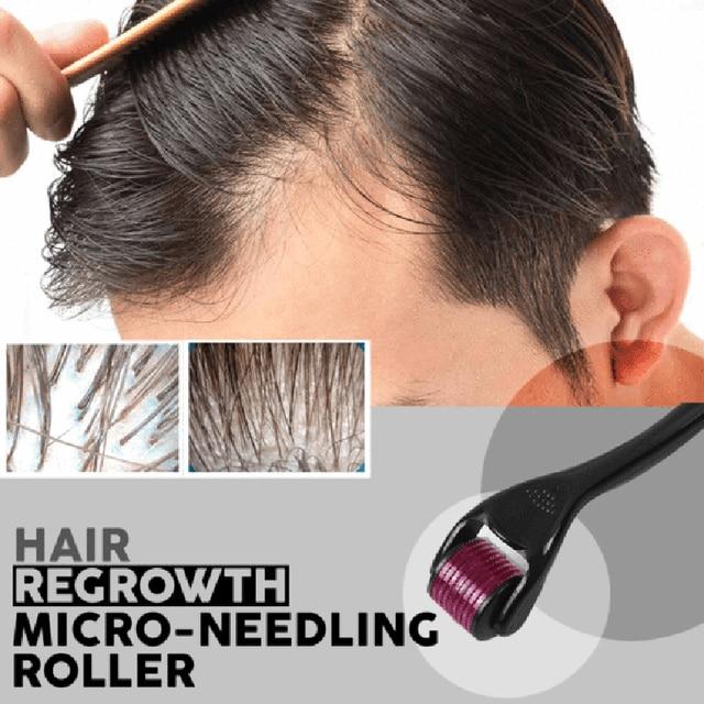 hair regrowth micro needling roller beard growth product anti hairhair regrowth micro needling roller beard growth product anti hair loss treatment thinning hair