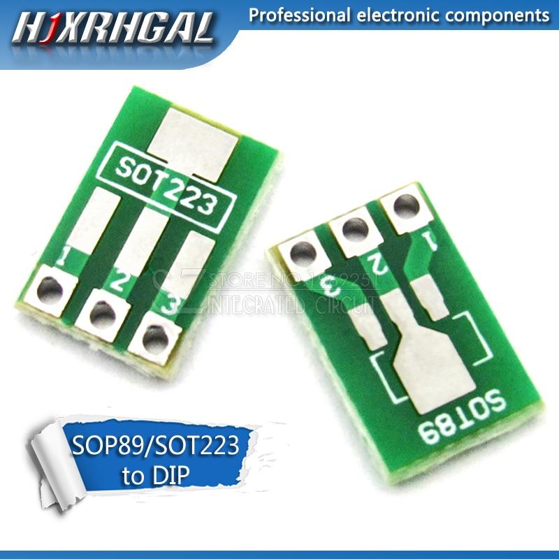20 шт. SOT89 SOT223 для DIP печатной платы, плата DIP-Pin, адаптер, наборы ключей hjxrhgal