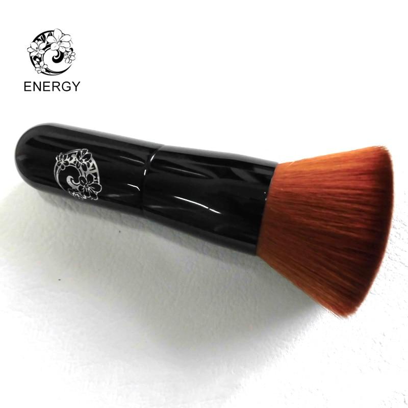 ENERGY Makeup Brushes Make Up Kabuki Brush Wood Handle Powder Blush Foundation Brush Pincel Maquiagem Brochas Pinceaux SX9
