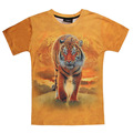 fashion summer style tshirt casual clothing short sleeve camiseta 3d t shirt animal tiger printed T-shirts rock swag clothes