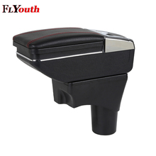 For Nissan Sunny Versa 2011-2016 Car Armrest Box Pu Leather Central Store Content Box Cup Holder Car-Styling Accessories Parts universal car central container armrest box pu leather auto car styling central store fit for 2011 mini cooper