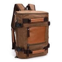 New Arrive Original Z L D Canvas Leather Men Travel Bags Duffel Bags Travel Tote Weekend
