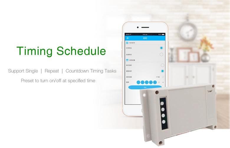 Itead Sonoff Inteligentny Wifi Przełącznik Czasowy Inteligentny Uniwersalny Bezprzewodowy Przełącznik DIY MQTT COAP Android IOS Zdalnego Sterowania Inteligentnego Domu 17