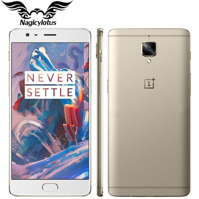 "Brand New EU Version Oneplus 3 A3003 6GB RAM 64GB ROM Mobile Phone Snapdragon Quad Core 5.5"" Android Fingerprint 4G Smartphone"