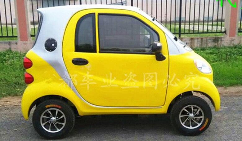 SD-HZ-XBM-A-1-48v32ah Les personnes âgées scooter électrique véhicule avec quatre roues au lieu de quatre roues de voiture adulte new energy véhicule