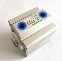 Diâmetro tamanho 100mm * 35mm Avc SDA Mini Elétrico Compacto de Dupla Ação Cilindro Pneumático Air