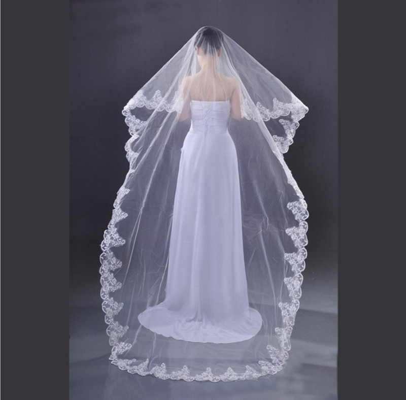 Popular Wedding Dress Veil Buy Cheap Wedding Dress Veil Lots From China Wedding Dress Veil
