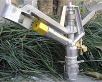 1.0 inch DN25 Zinc alloy 360 gear drive spray nozzle Garden water gun irrigation sprinkler
