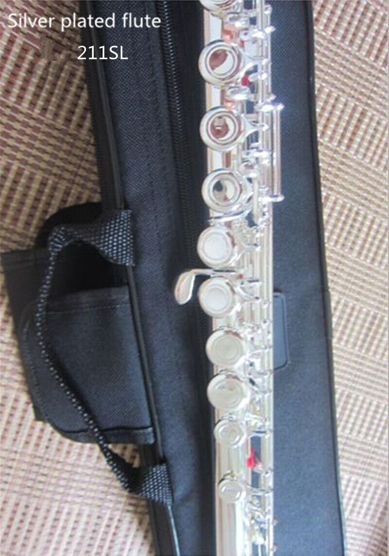 Высокое качество японская флейта 211SL музыкальный инструмент флейта 16 ботфорты C мелодию и E ключ флейта музыка Профессиональный Бесплатная