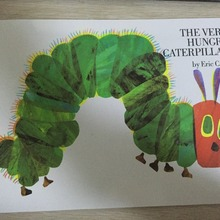 Educational children english book for baby and small children THE VERY HUNGRY CATERPILLAR eric carle