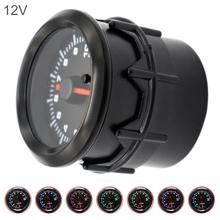 Car Tachometers 52MM 2Inch 10000 RPM Universal Electrical Tacho Gauge Meter Tachometer with 7 Color Backlight for 12V