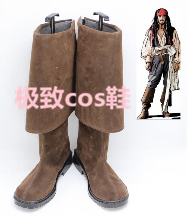 Pirate boots  Jack Sparrow cosplay shoes