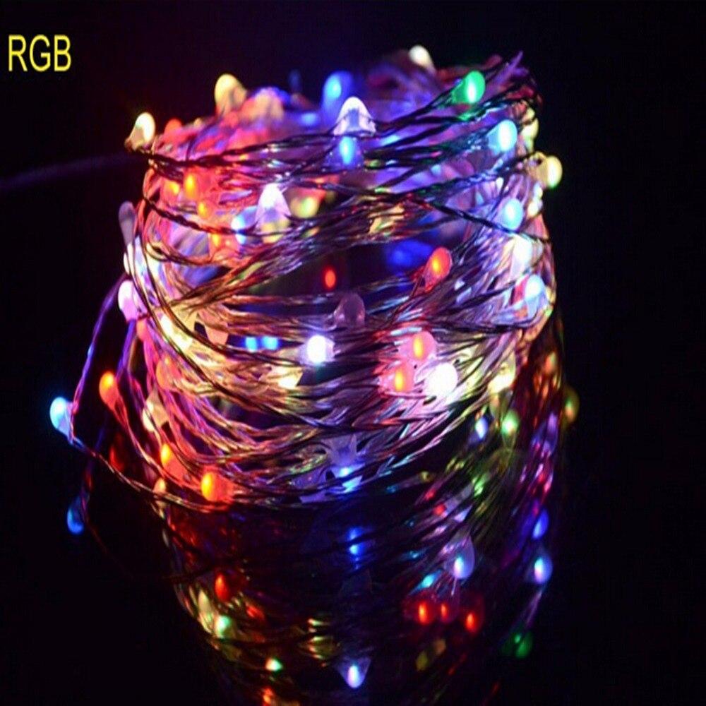 5m copper wire led starry lights led string wedding light. Black Bedroom Furniture Sets. Home Design Ideas