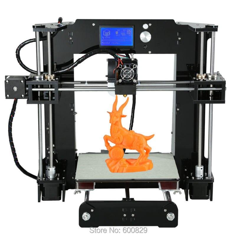 SENHAI3D DIY KIT SH19-A6 3D Printer Building Volume 220*220*250mm LCD Screen 12864 Filament 1.75mm Printing Accuracy 0.1-0.2mm
