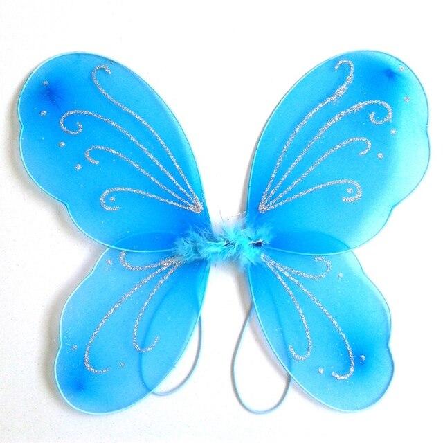 1pc Princess Fairy Erfly Wings Fancy Dress Costume 13 Colors