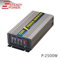 2500 Вт 12 Вольт 24 вольт постоянного тока до Ac 220 В Чистая синусоида Инвертор/солнечной инвертор