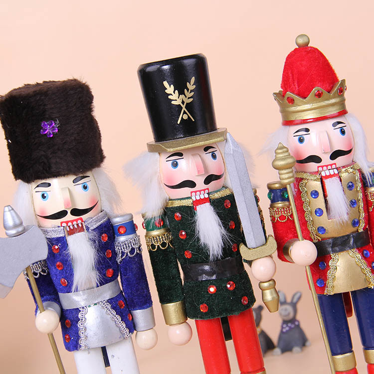 2017 christmas soldier puppet 30cm christmas gift decorations in action toy figures from toys hobbies on aliexpresscom alibaba group - Christmas Soldier Decorations