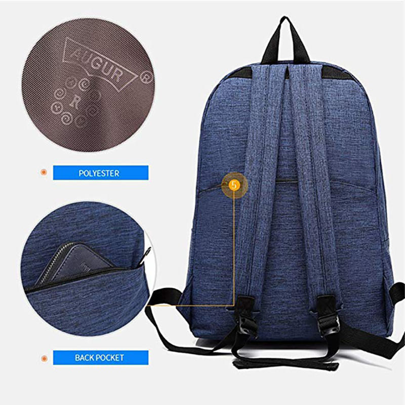 fa905bd6ae2d AUGUR 2018 Women Backpack Laptop Fashion School Bags Oxford Waterproof  Backpacks For Girls Teenagers Rucksack Mochila Mujer-in Backpacks from  Luggage   Bags ...