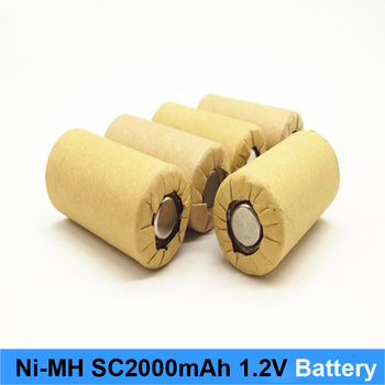 Ni MH Ni CD 1.2v battery 2000mah 10c 15c high power rechargeable nimh battery screwdriver and battery robot image