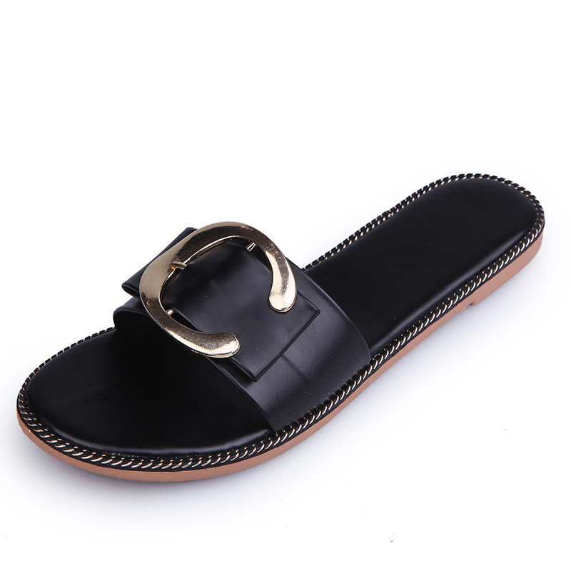 Women Sandals Flips Flops 2017 Summer Shoes Woman Wedges Buckle Sandals Fashion Comfortable Platform Female Slides Ladies Shoes phyanic 2017 gladiator sandals gold silver shoes woman summer platform wedges glitters creepers casual women shoes phy3323