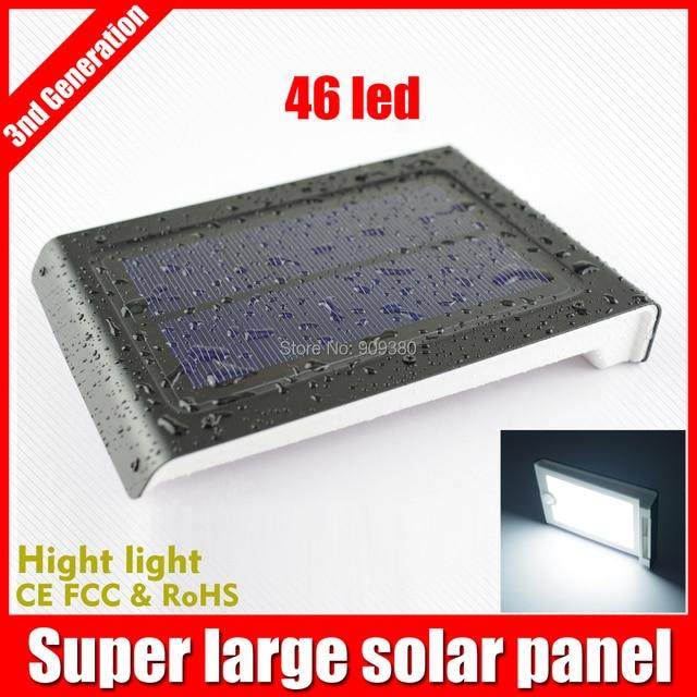 solar light lamps 46led motion sensor lights garden outdoor lighting