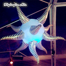 Concert and Stage Decor Led Lighting Balloons Inflatable UFO for Party Event(China)