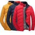 Novos Homens Jaqueta de Inverno Casacos de Moda Outerwear Dos Homens Casuais Ao Ar Livre Masculino Jaqueta M-5XL
