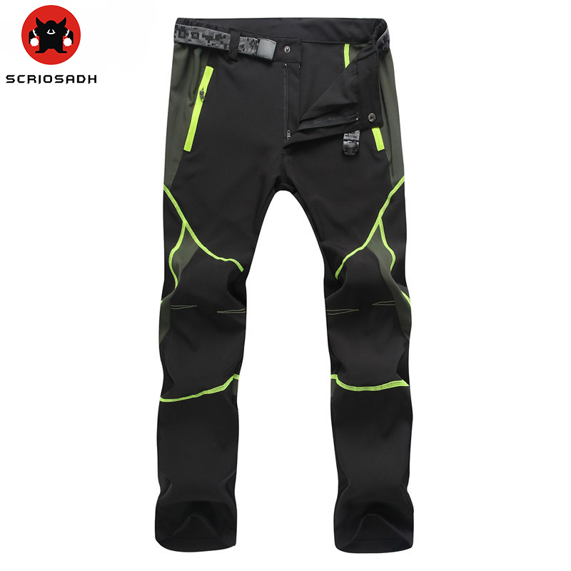 Outdoor Men Women Quick-drying Pants Sports Man Hunting Pants MountainClimbing pantalones Quick Dry Waterproof Windproof Pants